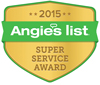 Angie's list - super service award badge
